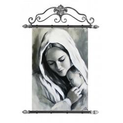 Marylin Monroe - Reproduktion auf Leinwand - 40x50 cm