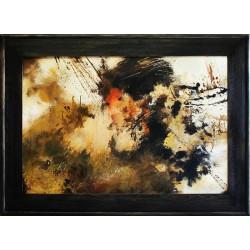 "Claude Monet ""Japanische Brücke II"" -Ölgemälde handgemalt Signiert Leinwand-Rahmen 80x110cm"