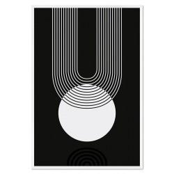 Sonnen Thema - Reproduktion-auf-Leinwand-40x40 cm