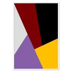 Sonnen Thema - Reproduktion-auf-Leinwand-50x40 cm x3
