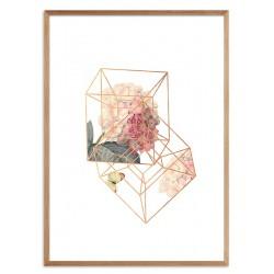Wild Nature-Reproduktion-auf-Leinwand 60x60 cm