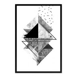 Gustav Klimt - Lebensbaum - Kunstdruck mit Rahmen - 29x34cm