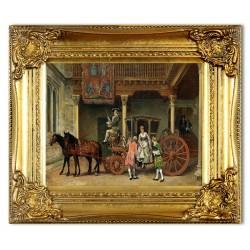 "Claude Monet ""Ogród w Giverny"" 60x90cm"