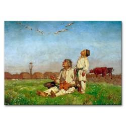 Gemälde alter Meister -  Kunstdruck - 40x50cm