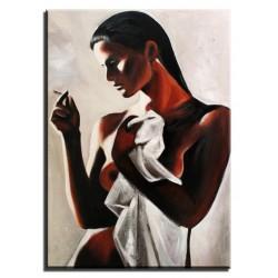 "Salvador Dali "" Zurücknahme  der Möbel aus der Brust""-Ölgemälde handgemalt Signiert 60x90cm"