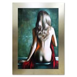 """Salvador Dali """"Die Beständigkeit der Erinnerung""""-Ölgemälde handgemalt Signiert 60x90cm"""