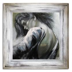 "Salvador Dali ""Metamorphose der Narzisse""-Ölgemälde handgemalt Signiert 90x120cm"