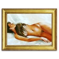 Bilder für die Küche - Ölgemälde auf Leinwand - 30x30cm