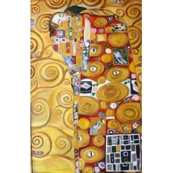 Moderne blumen- Ölgemälde handgemalt Signiert Leinwand-Rahmen 82x112cm