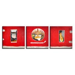 Abstraktion - Ölgemälde handgemalt Signiert 50x70cm+40x50cm