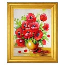 Sonnenblumen-Holz-19x27cm