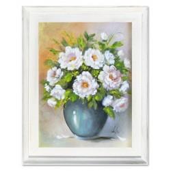Tulpen-Holz-Signiert 22x68cm