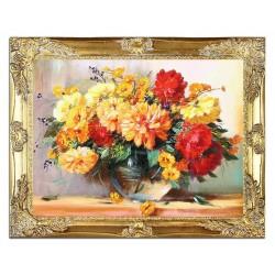 Tulpen - Ölgemälde handgemalt Signiert 50x70cm