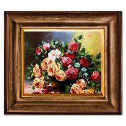 Bilder auf der Platte  Handgemaltes Bild auf einem Echt Holz Brett 20x25cm