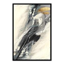 Engel -Ölgemälde handgemalt Signiert Leinwand+Rahmen 37x47cm