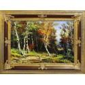 Traditionelle Landschaften - Ölgemälde handgemalt Signiert Leinwand-Rahmen 75x105cm