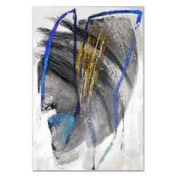 """Gustav Klimt-""""Wasserschlangen I""""- Ölgemälde handgemalt Signiert 30x30cm"""