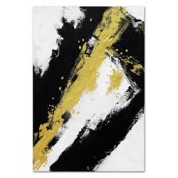 "Gustav Klimt-""Adele Bloch-Bauer I""Ölgemälde handgemalt Signiert Leinwand-Rahmen 27x32cm"