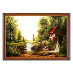 Jesus Christus - Ölgemälde auf Leinwand 54x82cm