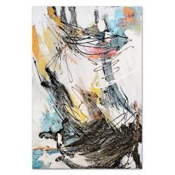 """Gustav Klimt-""""Medizin (Hygieia)"""" Ölgemälde handgemalt Signiert Leinwand-Rahmen 37x47cm"""