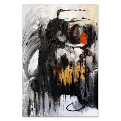 """Gustav Klimt-""""Wasserschlangen I"""" Ölgemälde handgemalt Signiert Leinwand-Rahmen 37x47cm"""