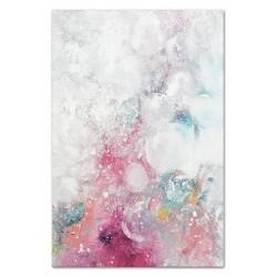 "Gustav Klimt-""Kuss"" Ölgemälde handgemalt Signiert Leinwand-Rahmen 47x57cm"