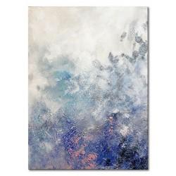 "Gustav Klimt ""Musik""- Ölgemälde handgemalt Signiert 50x70cm"