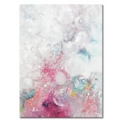 """Gustav Klimt """"Wasserschlangen I""""- Ölgemälde handgemalt Signiert 50x70cm"""