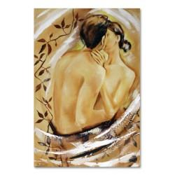 "Alfons Mucha ""Fox Land""-reprodukcja płótno 90x60 cm"