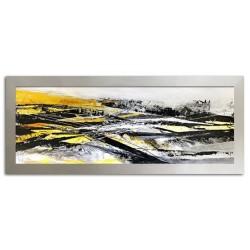 Die Impressionisten-Ölgemälde handgemalt Signiert Leinwand-Rahmen 64x84cm