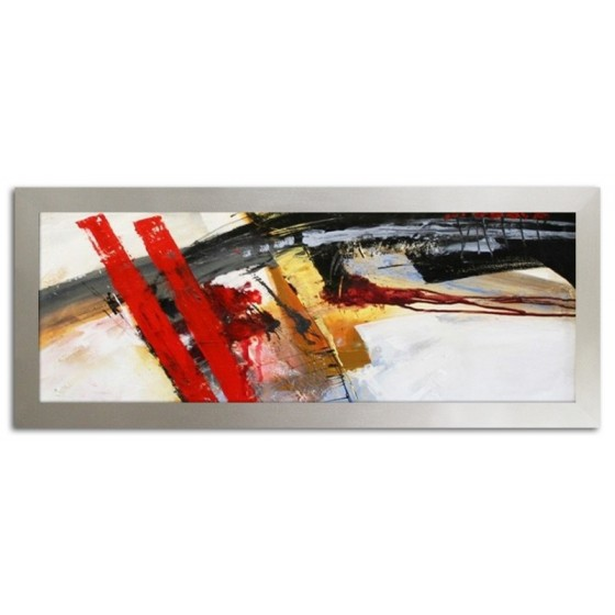 "Claude Monet ""Mohnfeld"" -Ölgemälde handgemalt Signiert Leinwand-Rahmen 75x105cm"