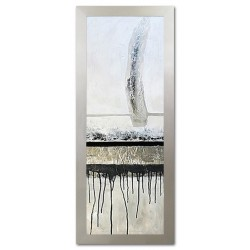 "Claude Monet ""Brücke in Argenteuil""-Ölgemälde handgemalt Signiert Leinwand-Rahmen 70x90cm"