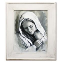 Polnische Maler - Reproduktion auf Leinwand 60x60 cm